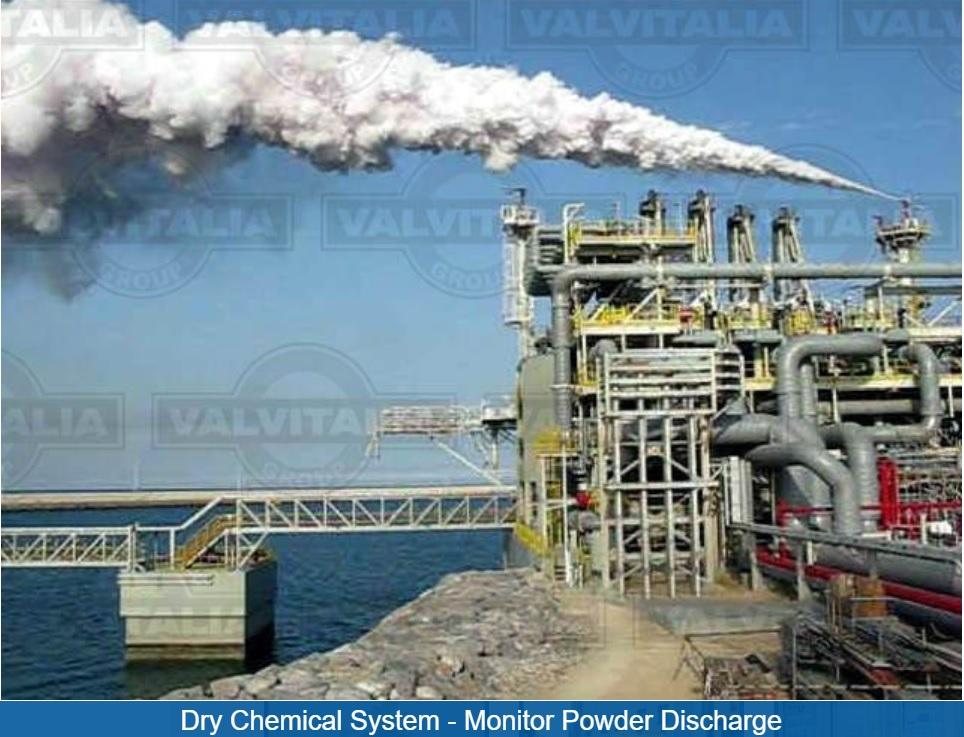 سیستم اطفا حریق خشک - سیستم تخلیه پودر اطفا حریق + آریا پترولیوم سازه + نماینده ولوایتالیا + Valvitaliaنماینده